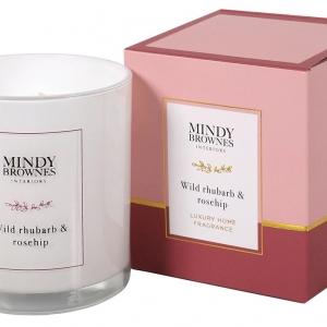Mindy Brownes Wild Rhubarb & Rosehip Candle