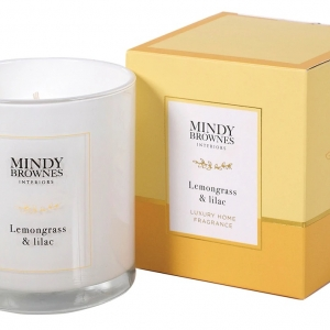 Mindy Brownes Lemongrass & Lilac Candle
