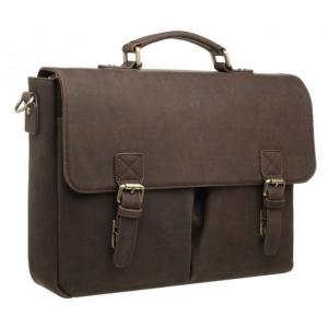 Bobby Black Front Pocket Coffee Laptop Bag