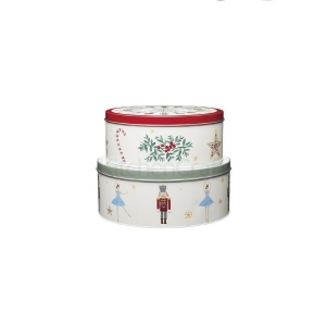 The Nutcracker Collection Storage Tins From Kitchen Craft