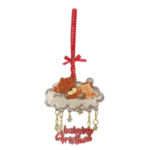 Tipperary Crystal Baby's First Christmas Decoration