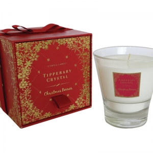 Tipperary Crystal Christmas Berries Scented Jar Candle