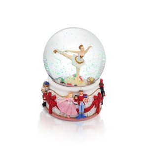 Tipperary Crystal Nutcracker Snow Globe