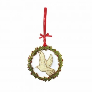 Tipperary Crystal Sparkle Dove Christmas Decoration