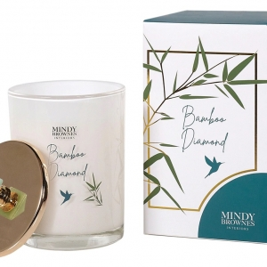 Mindy Brownes Bamboo Diamond Scented Candle