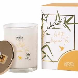 Mindy Brownes White Jasmine Tea Scented Candle