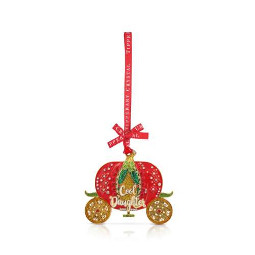 Tipperary Crystal Loved One's Christmas Decoration Cool Daughter