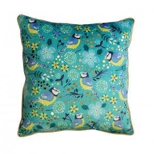 Blue Tit Tipperary Crystal Birdy Cushion New 2020