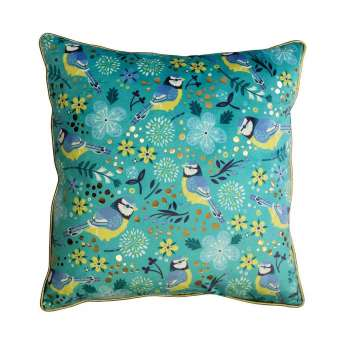 Blue Tit Tipperary Crystal Birdy Cushion New 2020
