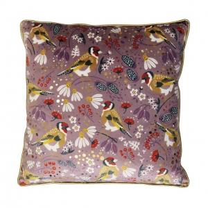 Goldfinch Tipperary Crystal Birdy Cushion New 2020
