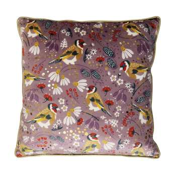Goldfinch Tipperary Crystal Birdy Cushion New 2020