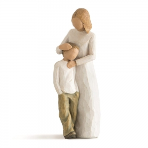 Mother And Son Figurine by Willow Tree