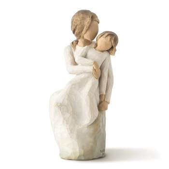 Mother & Daughter Figurine by Willow Tree
