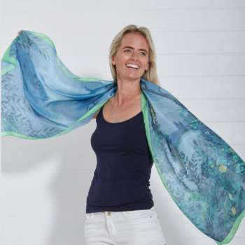 Designers Guild Silk Scarf From Quintessential