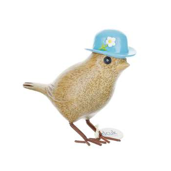 Garden Bird In Blue Bowler Hat From Dcuk