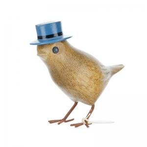 Garden Bird Blue Top Hat From Dcuk