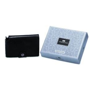 Newgrange Living Leather Card Holder Black