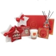 Christmas Hamper Red Gift Box Set From Tipperary Crystal