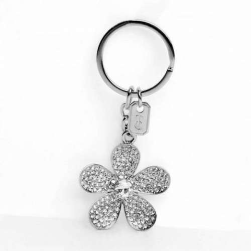 Flower Sparkle Keyring From Tipperary Crystal
