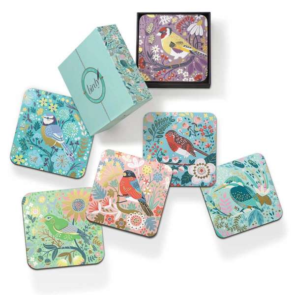 Tipperary Birdy Set of 6 Coasters