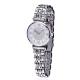 Silver Diamond Face Ladies Watch