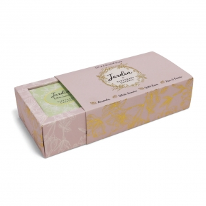 Tipperary Crystal Jardin 4 Soaps Set