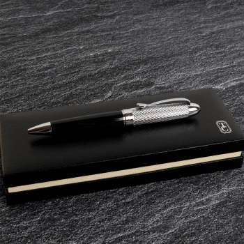 Tipperary Crystal James Joyce Silver Pen