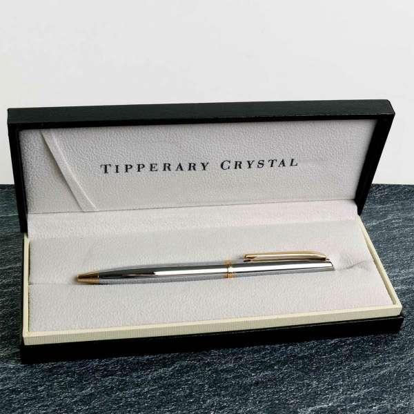 Tipperary Crystal Oscar Wilde Gold Pen