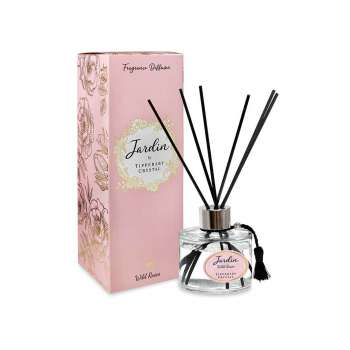 Tipperary Crystal Jardin Diffuser in Wild Roses