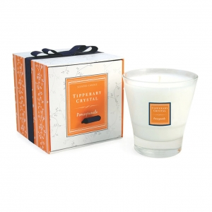 Tipperary Crystal Tumbler Candle Pomegranate