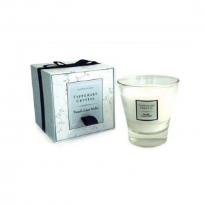 Tipperary Crystal Tumbler Candle French Linen Water
