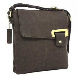 Bessie Front Flap Zip Top Cross Body Bag