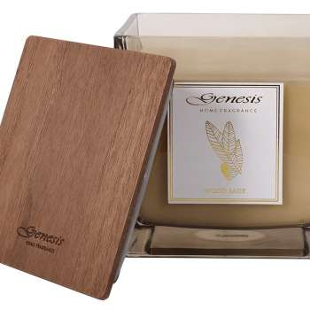 Genesis Wood Sage X Large Square Candle