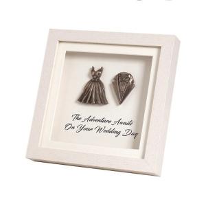Mindy Brownes Framed Wedding Day Plaque