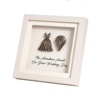 Mindy Brownes Framed Wedding Day Plaque