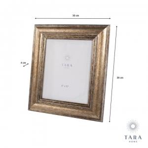 "Tara Home Leo Photo Frame Gold 8"" x10"""