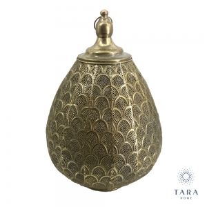 Tara Home Casablanca table lamp gold