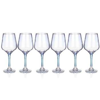 Newgrange Living Unicorn Lustre Wine Glasses Set of 6