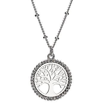 Newgrange Living Silver Tree of Life Pendant