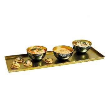 Artesa Serving Platter Set with Three Bowls