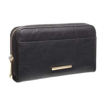Bessie London Classic Ladies Wallet Black
