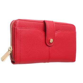 Bessie London Classic Ladies Wallet Red