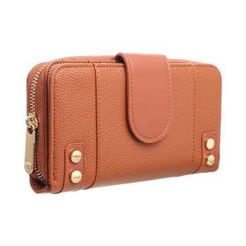 Tan Smart Ladies Wallet From Bessie London