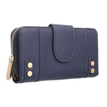 Navy Smart Ladies Wallet From Bessie London