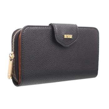 Bessie London Flap Over Wallet Black