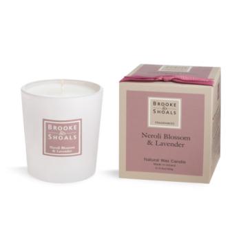 Brooke And Shoals Neroli Blossom & Lavender Candle