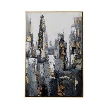 Mindy Brownes Skyline Canvas Print