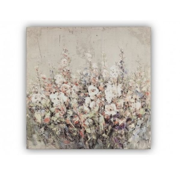 The Grange Collection Flower Canvas