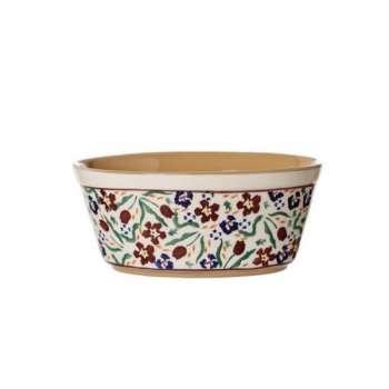 Nicholas Mosse Small Oval Pie Dish Wild Flower Meadow