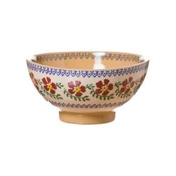 Nicholas Mosse Vegetable Bowl Old Rose 10cm